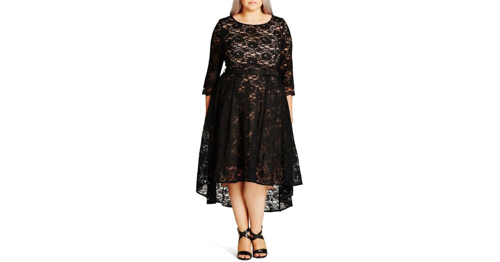 city chic lace lover dress