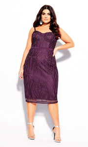 city chic antonia mulberry plus size dress