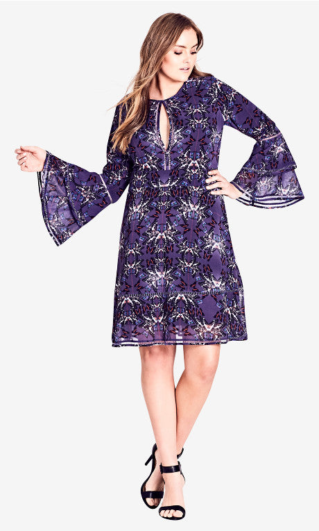 city chic butterflies plus size dress nz