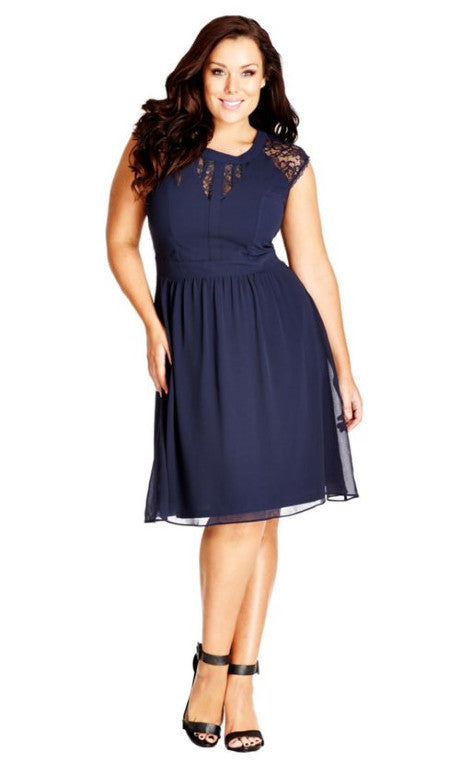 city chic dark romance plus size dress