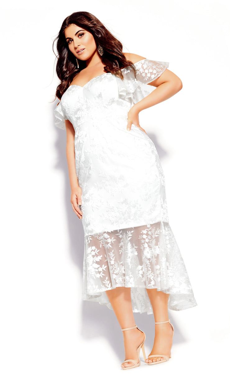 city chic lace aflutter dress plus size wedding dress nz
