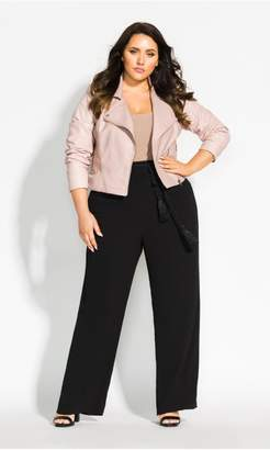 city chic pink leather jacket nz
