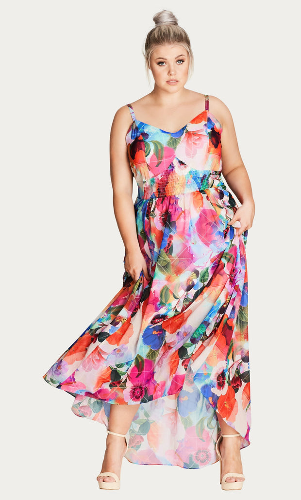 plus size maxi dress nz