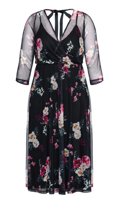 City Chic romantic dream plus size dress nz