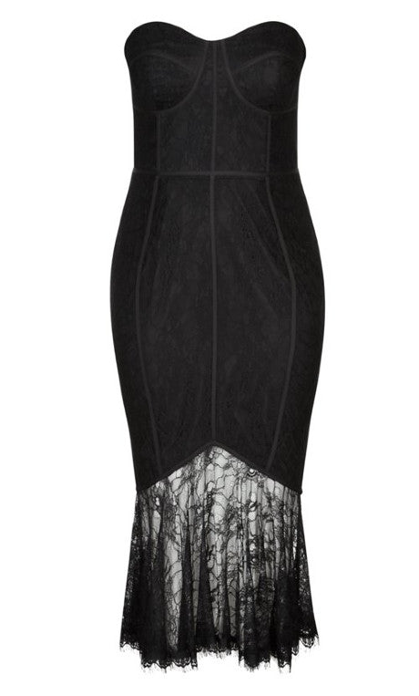 city chic so seductive black plus size dress