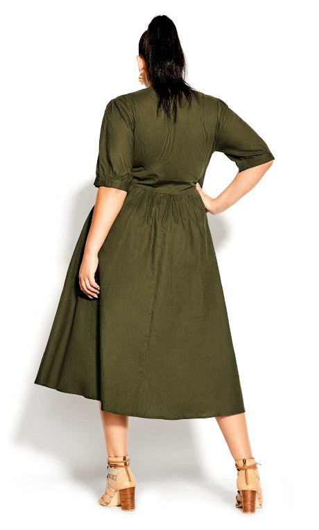 city chic sunset stroll plus size dress
