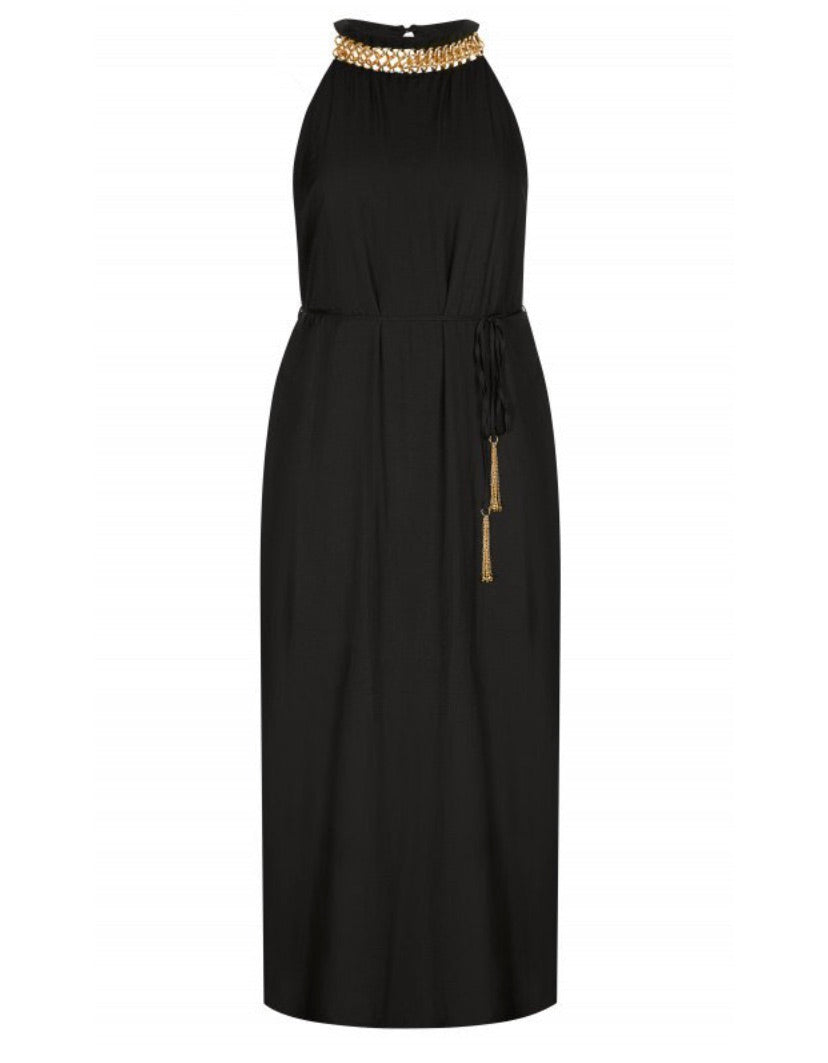 New // CITY CHIC 'Ring Detail' Maxi-Dress // Sizes 14 & 18