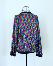 plus size sequin jacket nz