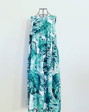 New // LITTLE PARTY DRESS 'Leanne: Palm Print' Dress // Size 18
