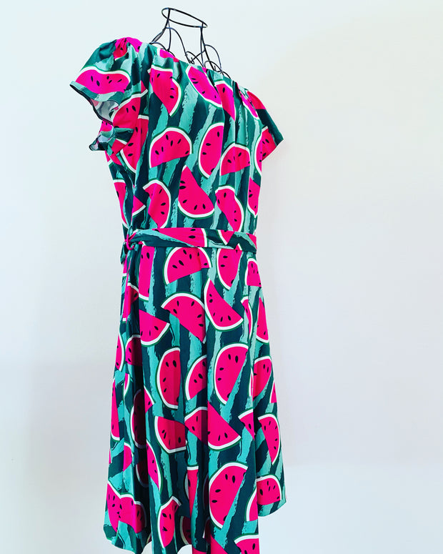 lady vintage watermelon dress