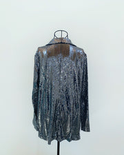 New // HAUTE FOX Sparkly Sequin-Style Blazer // Sizes 18, 20 & 22