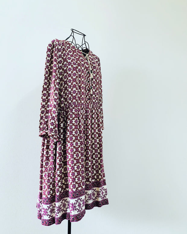 Preloved // ZEST WEEKEND! Boho-Style Dress // Size 14