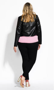 city chic leather jacket nz