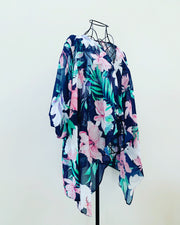 New // EVANS Waterfall-Style Floral Kimono // Best Suited To Sizes 18-20