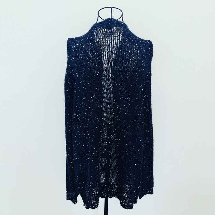 Preloved // H&M Cardigan With Sequins // Size 14