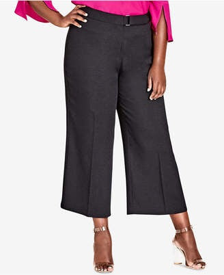New // CITY CHIC 'Elegant Culotte Pant' // Size 18