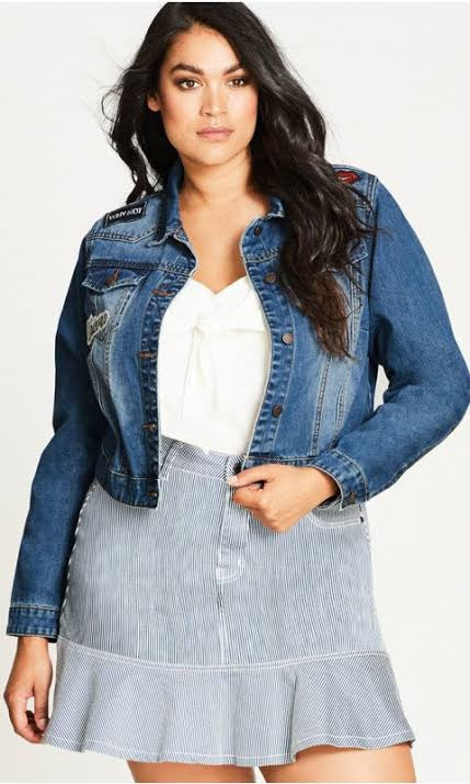 City Chic denim jacket