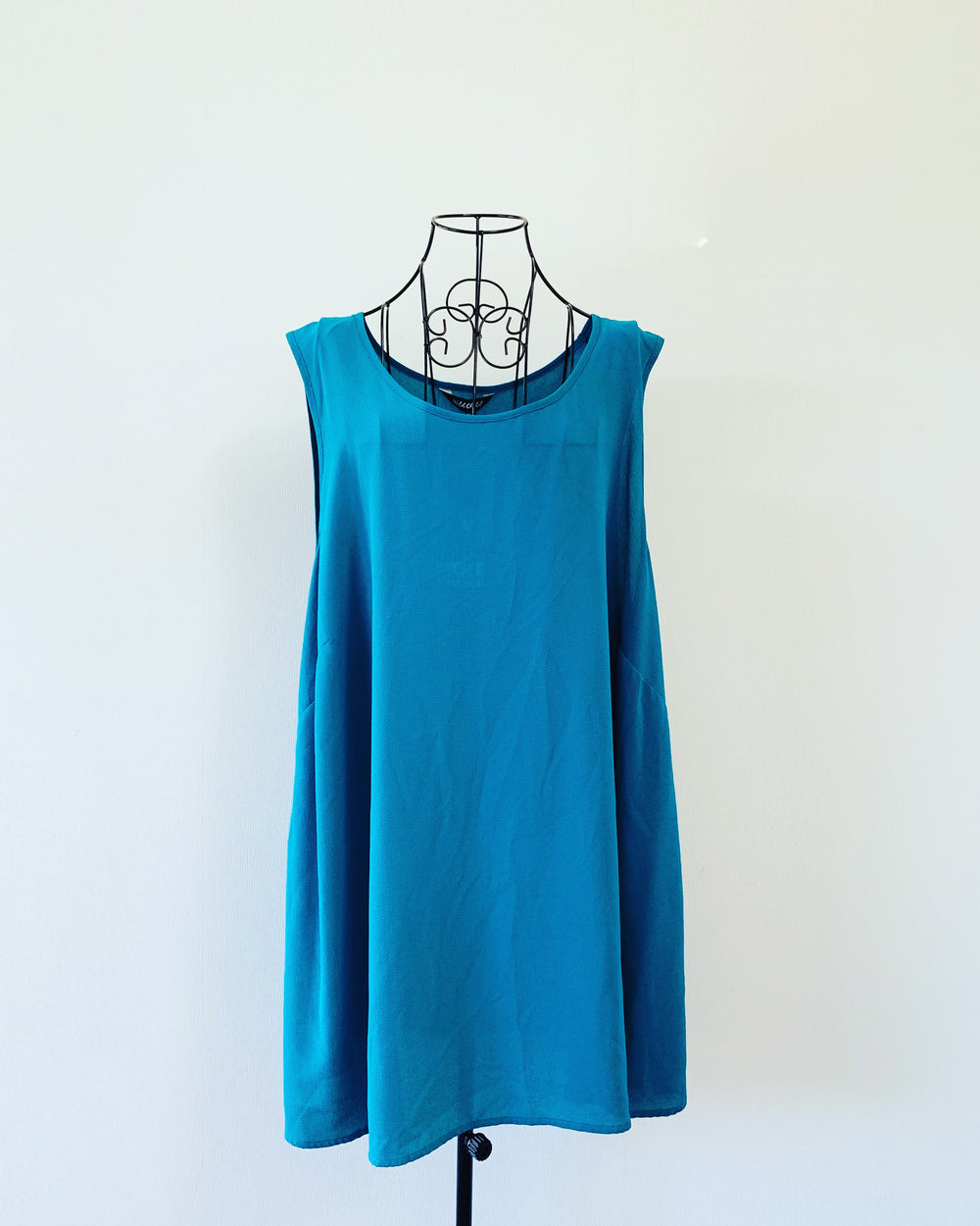 New // WILD CHILD Teal-Coloured Sleeveless Top // Size 24
