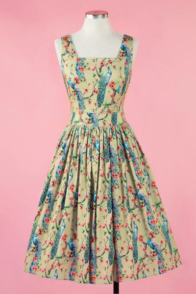 lady vintage plus size dress