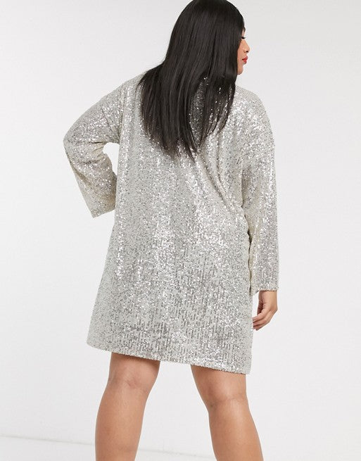 plus size sequin clothing nz