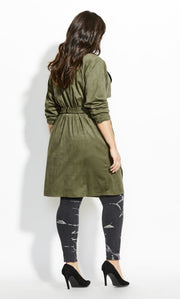 plus size trench coat nz