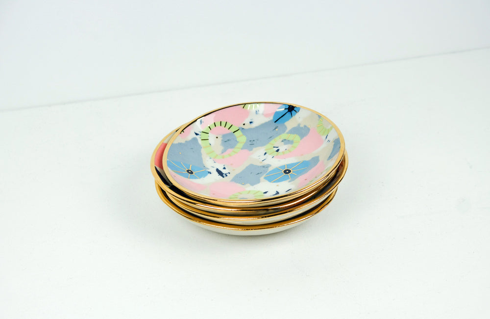 Gold Lustre Bowl Medium