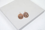 Shift Earrings Rose Gold