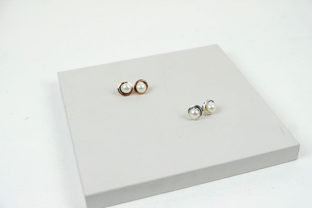 Continuum Stud Earrings
