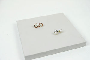 Continuum Pearl Stud Earrings