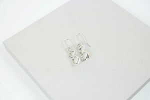 Triple Continuum Earrings