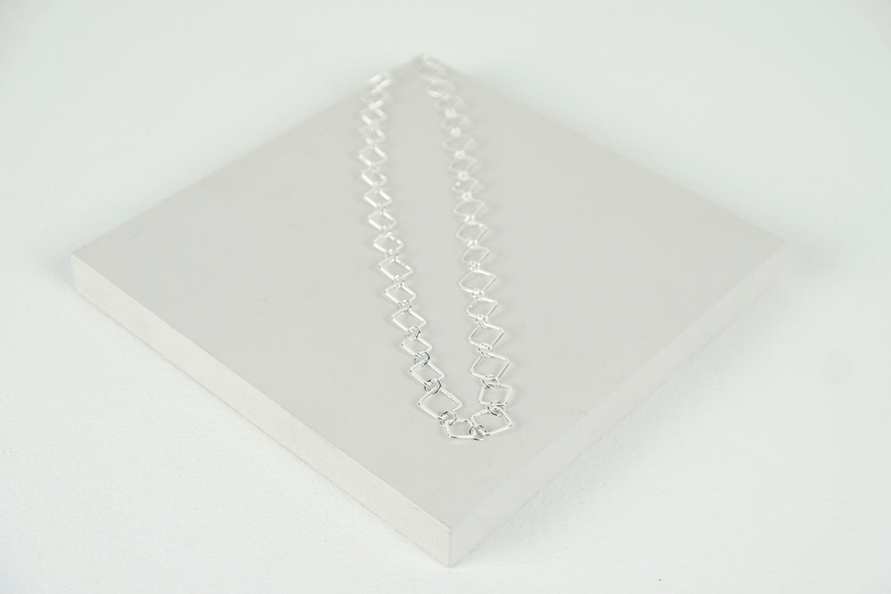 Square Links Necklace