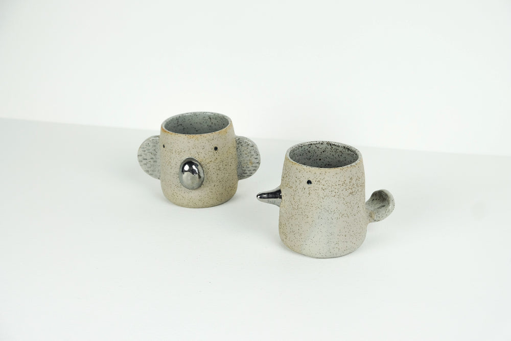 Lustre Animal Cup