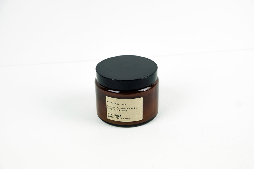 500ml Etikette Candle