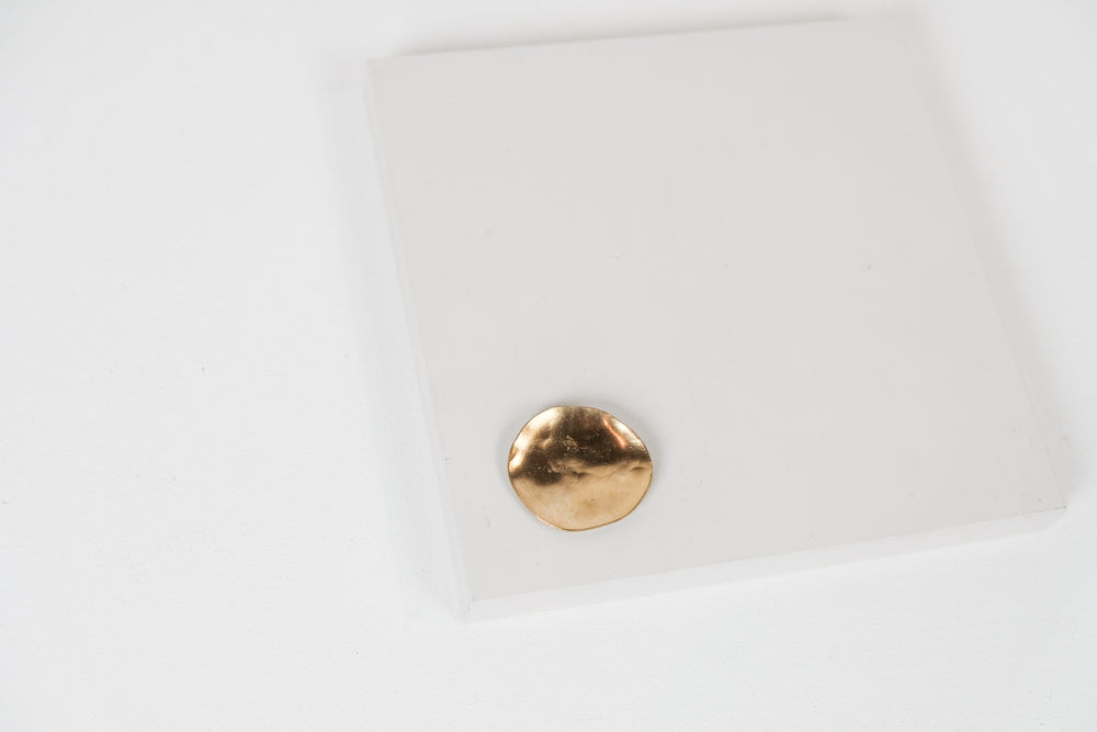 Gold Spot Brooch