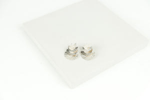 Four Layer Half Round Earrings