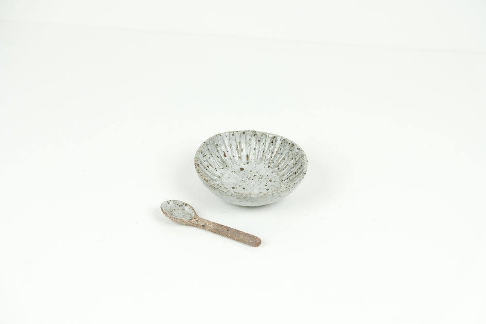 Small Dish with Spoon