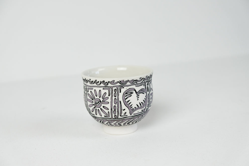 Inlay Porcelain Cup