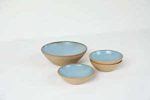 Small blue dish