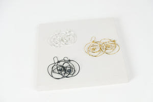 Scribble Hook Earrings