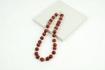 Sponge Coral Bead Necklace