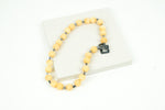 Yellow Calcite Bead Necklace