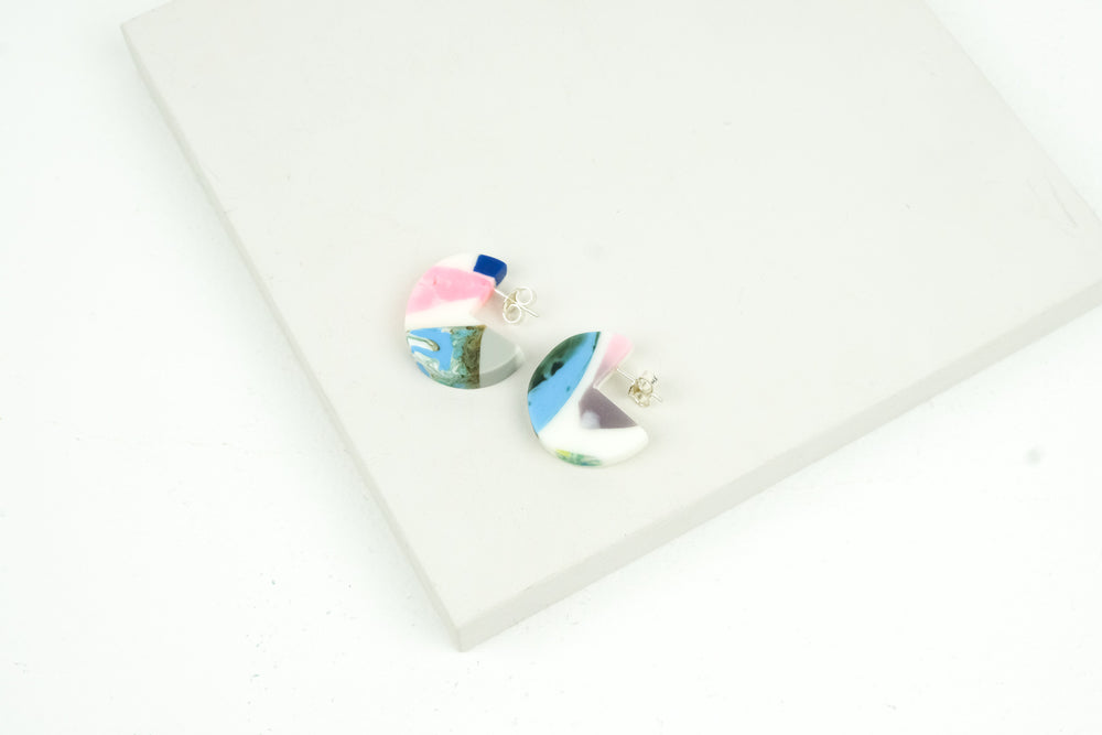 Small Terrazzo Earrings