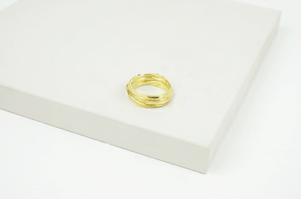 18ct Gold Wrap Ring