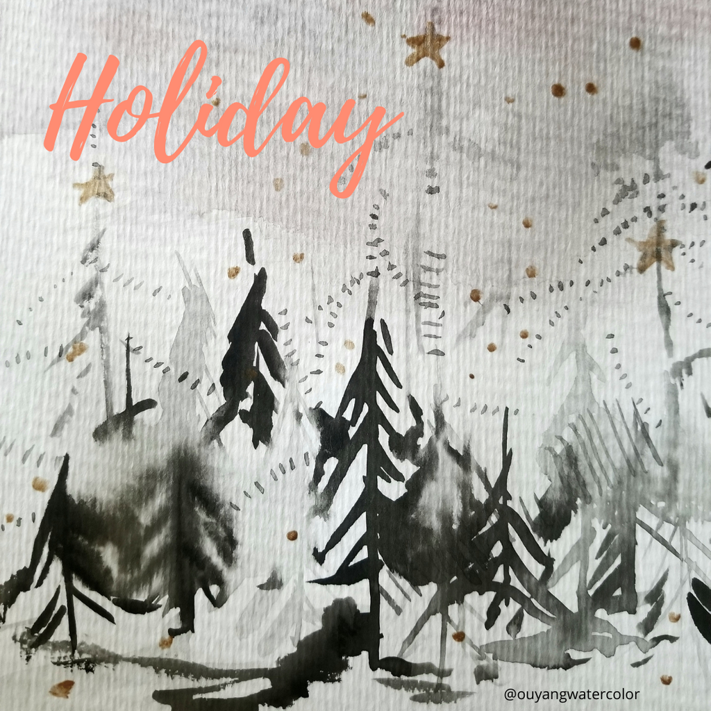 Making Holiday Art