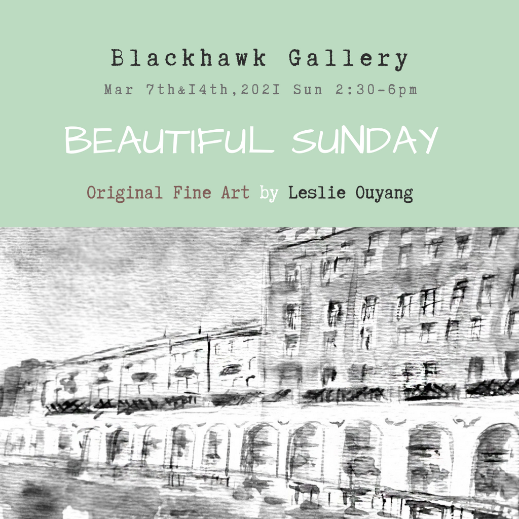 "March 7th & 14th ""Beautiful Sunday"" at Blackhawk Gallery"