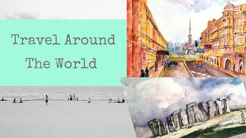 Travel Around the World | Virtual Art Tour