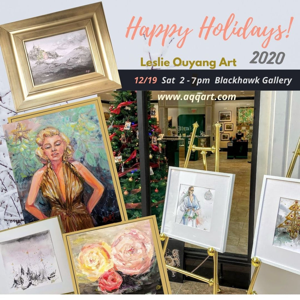 Dec 19th Holiday Art Sale - Last Holiday Event of 2020
