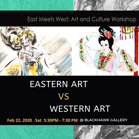 Eastern Art vs. Western Art