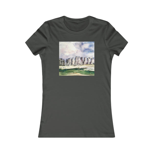 AQQ Studio Women's Favorite Tee - Stonehenge (Square Design)
