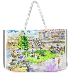City Center Mall Christmas 2018 - Weekender Tote Bag